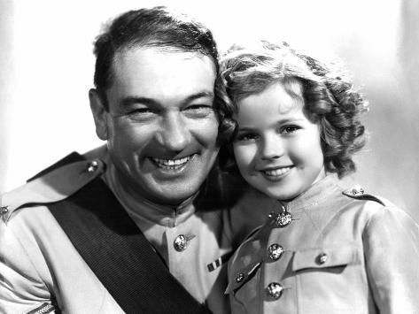 Wee Willie Winkie, Victor McLaglen, Shirley Temple, 1937 Foto