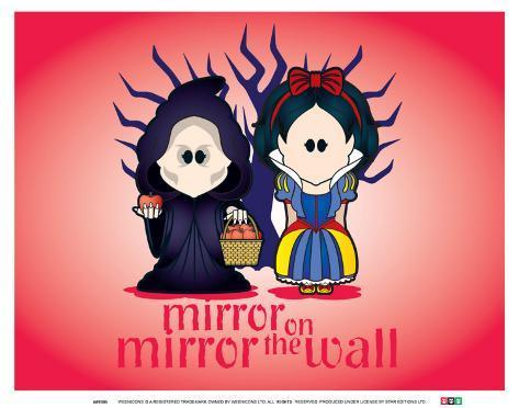 Weenicons: Mirror Mirror on the Wall Art Print