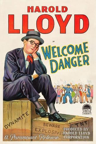 Welcome Danger [1929], Directed by Clyde Bruckman. Giclee Print