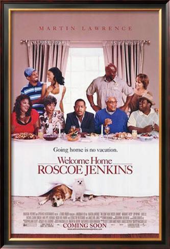 Welcome Home Roscoe Jenkins Impressão artística emoldurada