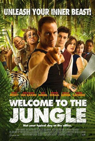 Welcome to the Jungle Masterprint