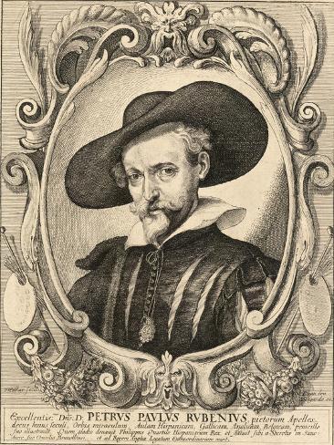 Portrait of Peter Paul Rubens Stampa giclée
