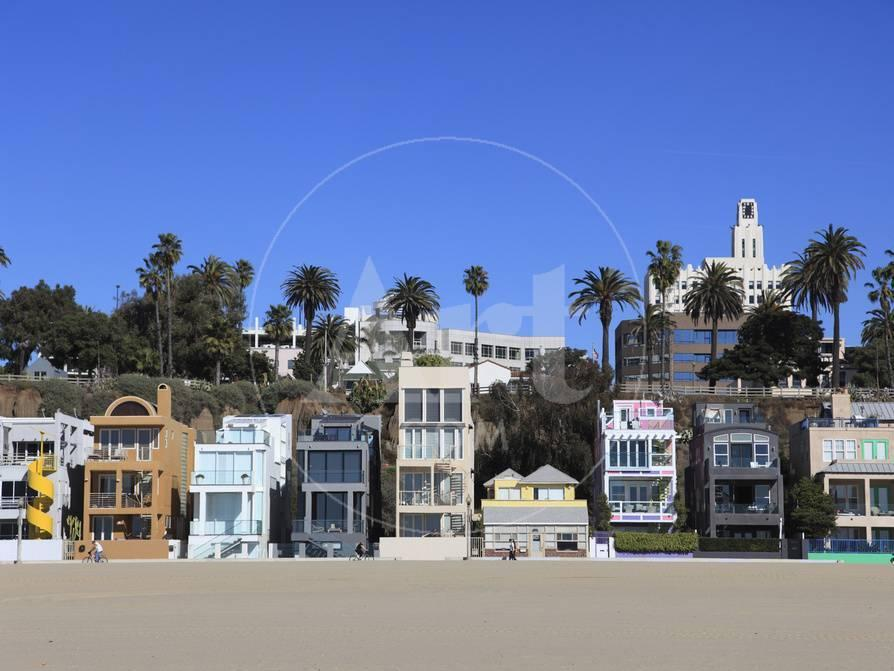 Beach Houses Santa Monica Los Angeles California United States Of America North Photographic Print By Wendy Connett At Allposters