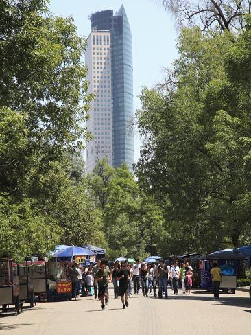 Chapultepec Park (Bosque De Chapultepec), Chapultepec, Mexico City, Mexico, North America Photographic Print