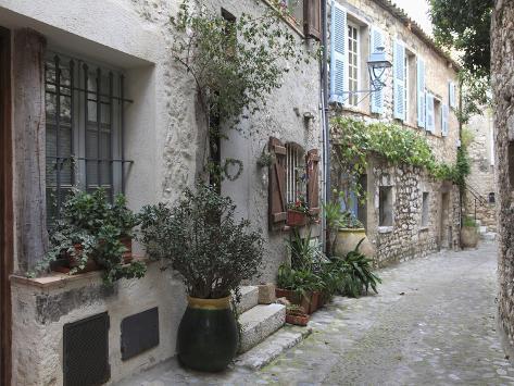 St. Paul De Vence, Medieval Village, Alpes Maritimes, Cote D'Azur, Provence, France, Europe Photographic Print