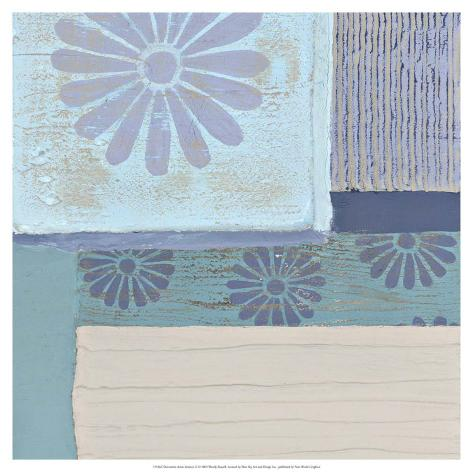 Decorative Asian Abstract II Giclee Print
