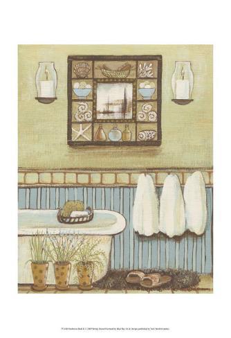 Seabreeze Bath II Art Print
