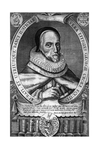 Sir George Croke Giclee Print