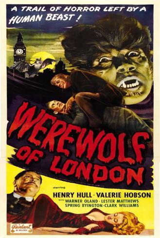 Werewolf of London Poster