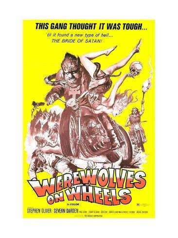 Werewolves On Wheels, 1971 Fotografia