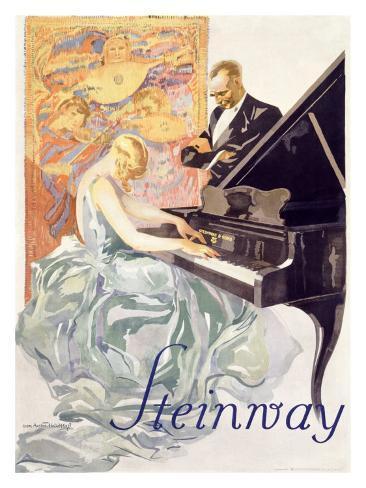 Steinway Giclee Print