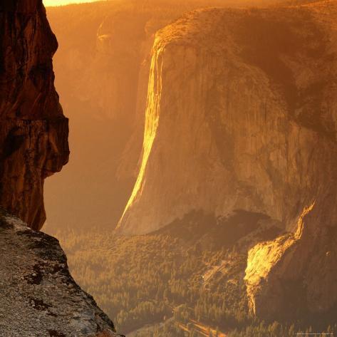 El Capitan at Sunset, Yosemite National Park, USA Photographic Print