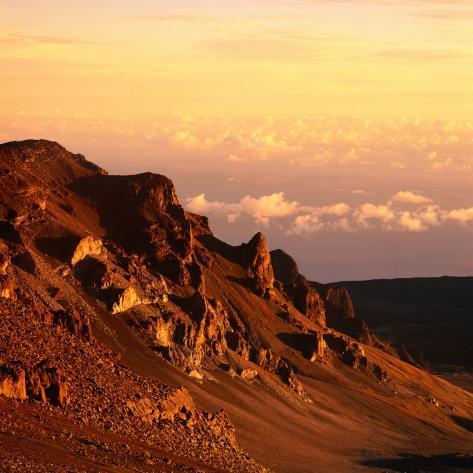 Haleakala Crater, Haleakala National Park, Maui, Hawaii, USA Photographic Print