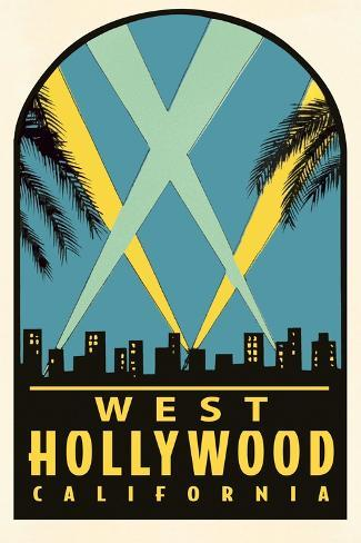 West Hollywood Decal Prints - AllPosters.ca