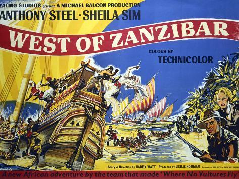 West of Zanzibar Art Print