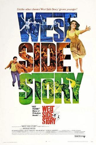 West Side Story, 1961 Gicléetryck
