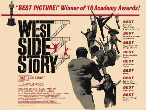 West Side Story, 1961 Art Print