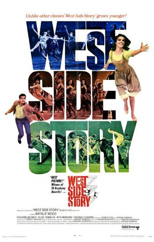 West Side Story (Amor sin barreras) Lámina maestra