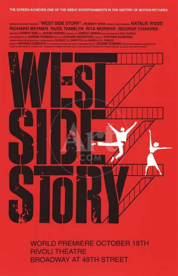 West Side Story - Broadway Poster Lámina maestra en AllPosters.es