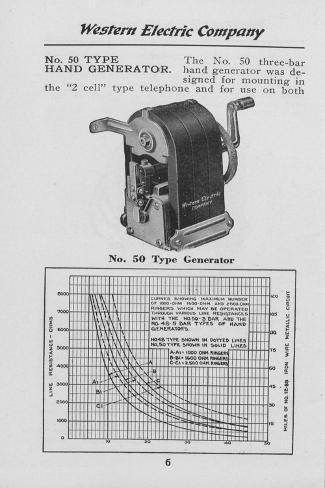 Western Electric Telephone Wiring Diagram