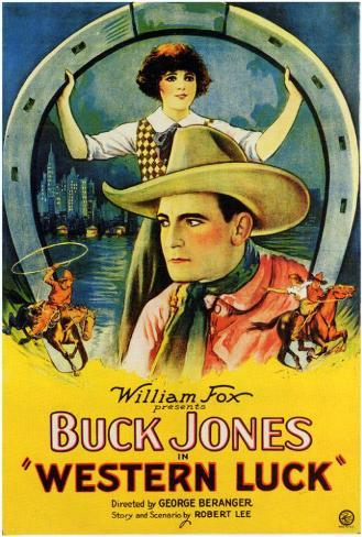 Western Luck Poster