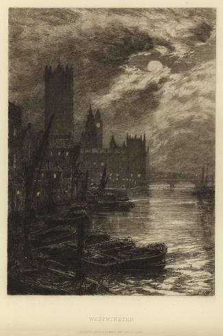 Westminster Giclee Print