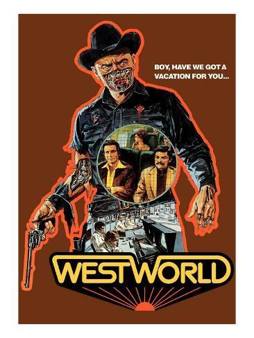 Westworld, Yul Brynner, 1973 Photo