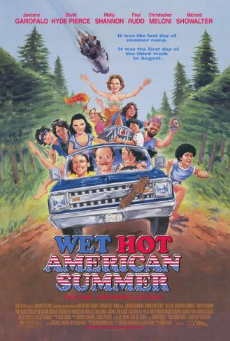Wet Hot American Summer Masterprint