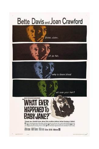 What Ever Happened To Baby Jane?, 1962, Directed by Robert Aldrich Giclee Print