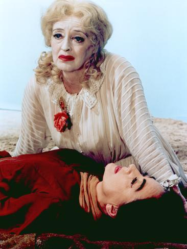 What Ever Happened To Baby Jane?, Bette Davis, Joan Crawford, 1962 Photo