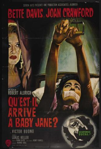 Whatever Happened to Baby Jane? - French Style Poster