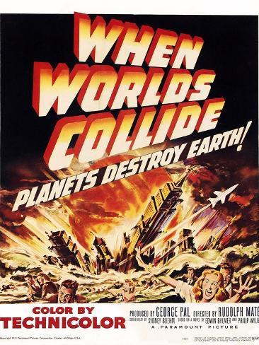 When Worlds Collide Premium Giclee Print