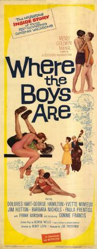 Where the Boys Are Poster