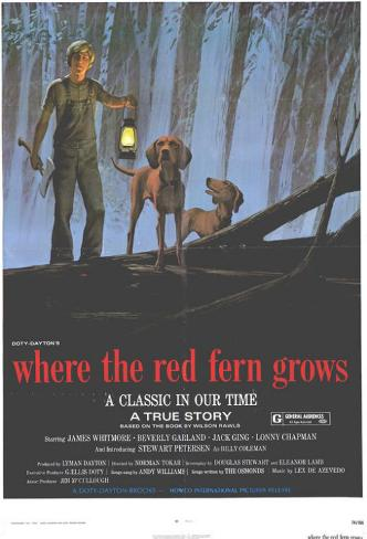 Where the Red Fern Grows Masterprint