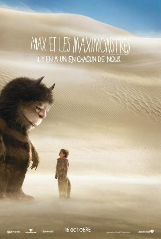 Where the Wild Things Are - French Style Poster