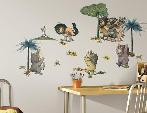 Where The Wild Things Are Peel U0026 Stick Wall Decals