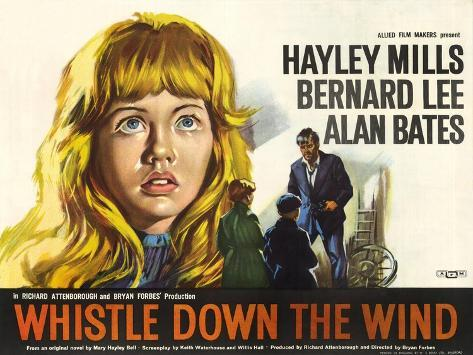 Whistle Down the Wind, 1961 Konstprint