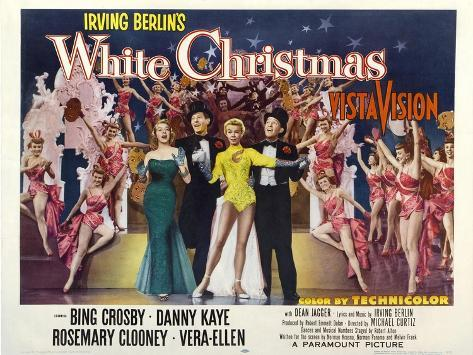 White Christmas, 1954 Art Print
