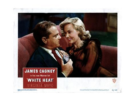 White Heat, from Left, James Cagney, Virginia Mayo, 1949 Giclee Print