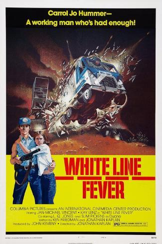 White Line Fever, Jan-Michael Vincent, Kay Lenz, 1975 Art Print