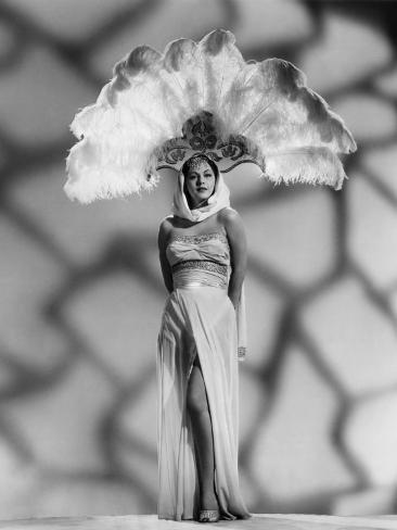 White Savage, Maria Montez, in a Sheerong Designed by Vera West, 1943 Photo