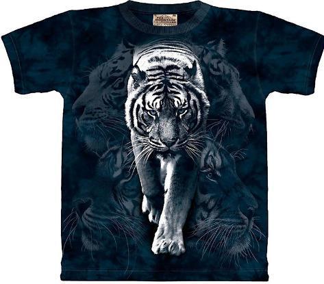 White Tiger Stalking T-Shirt