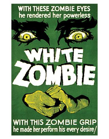 White Zombie - 1932 Impressão giclée