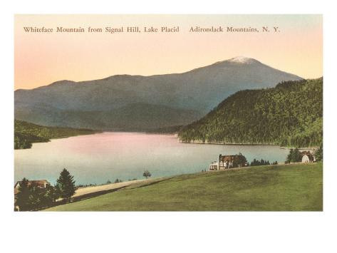 Whiteface Mountain, Lake Placid, New York Art Print