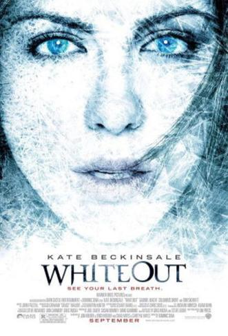 Whiteout Dubbelsidig poster