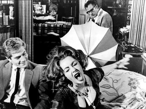 Who's Afraid Of Virginia Woolf?, George Segal, Elizabeth Taylor, Richard Burton, 1966 Photo