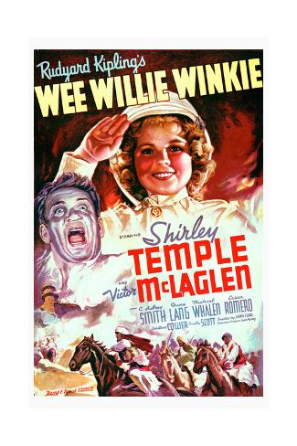 Wi Willi Winki|Wee Willie Winkie Konstprint