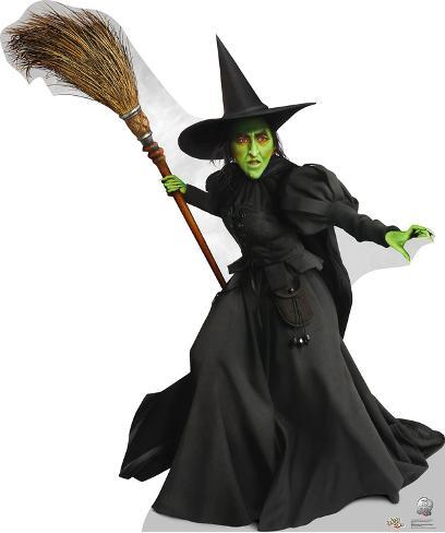 Wicked Witch of the West - Wizard of Oz 75th Anniversary Lifesize Standup Cardboard Cutouts