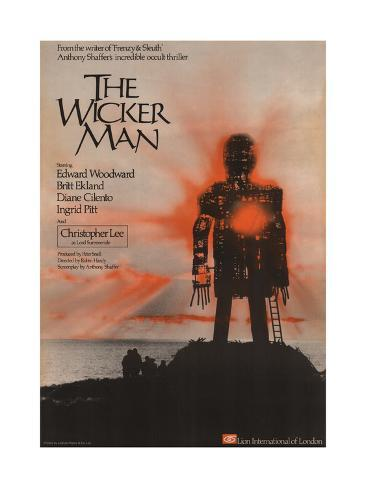 Wicker Man (The) Art Print