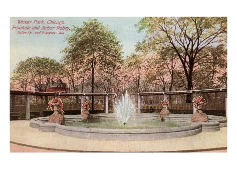 Wicker Park, Chicago, Illinois Art Print